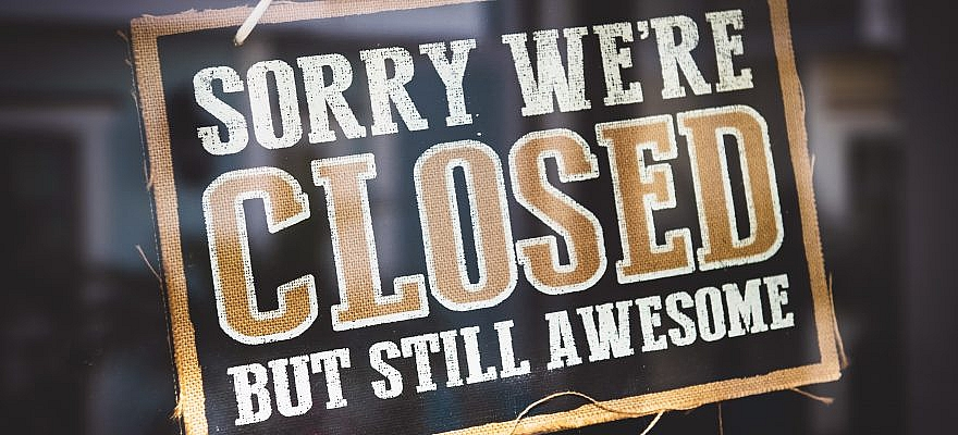 Sorry, we are closed but still awesome